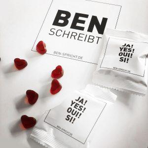 Ben Spricht Fruchtgummis Hochzeitsmesse