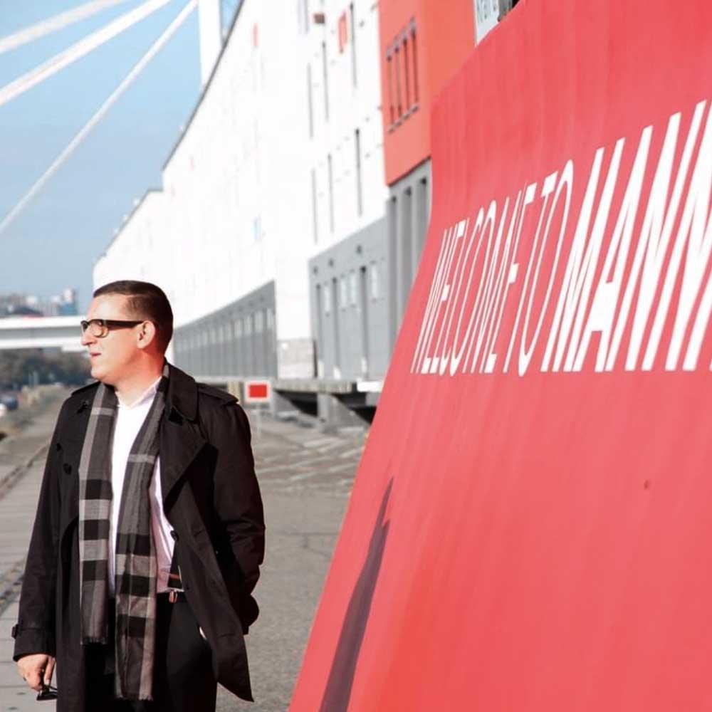 Ben Spricht Welcome Mannheim